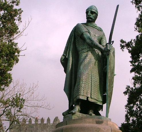 Primeiro governante de Portugal era Rei