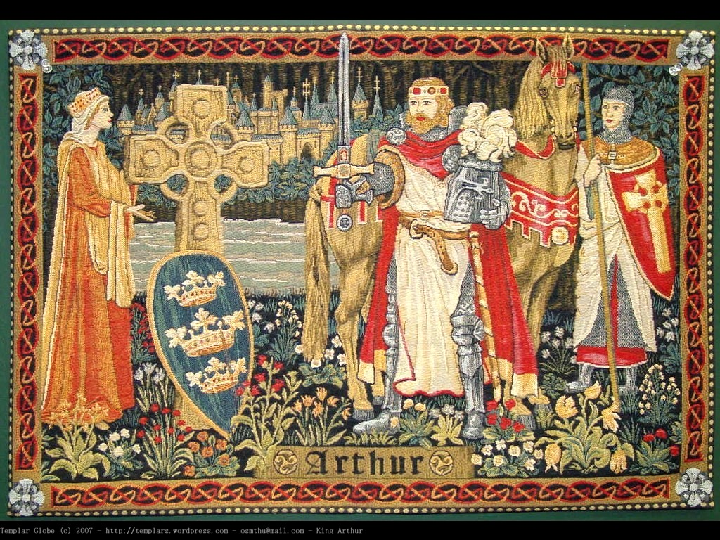 a comparison of camelot and morte d arthur Sir galahad is then brought to king arthur's court at camelot just as in le morte d'arthur, galahad grows up in thereupon, andrei accepts the comparison.
