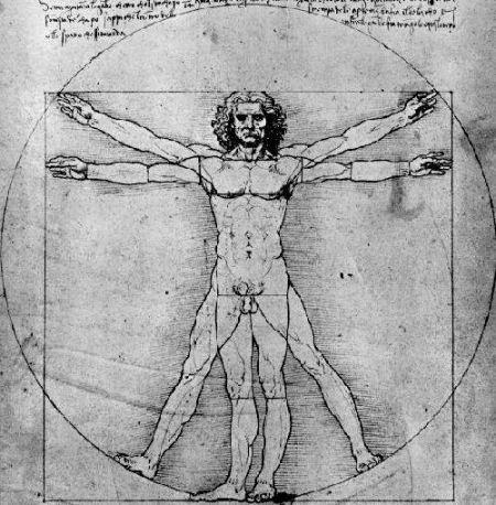 O Homem - Leonardo Da Vinci