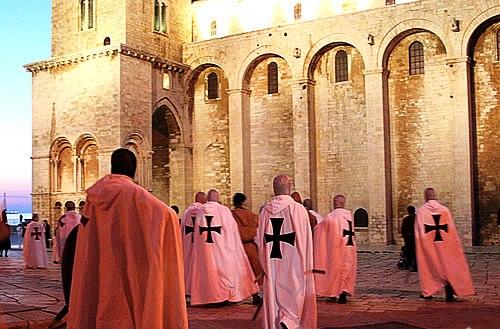 Notte dei Templari in Trani, Puglia